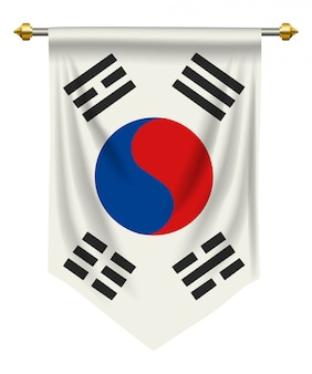 South korea pennant