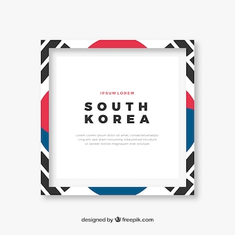 South korean frame