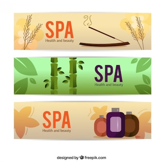 Spa banners
