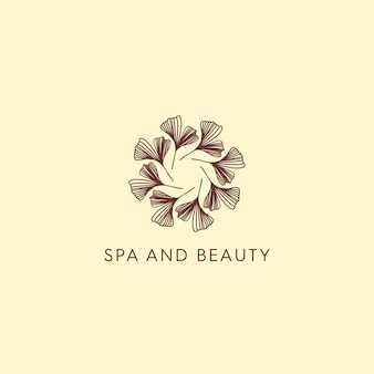 Spa and beauty classic logo