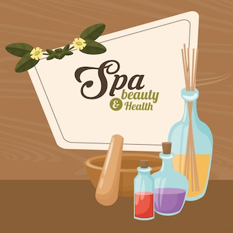 Spa beauty and health treatment care