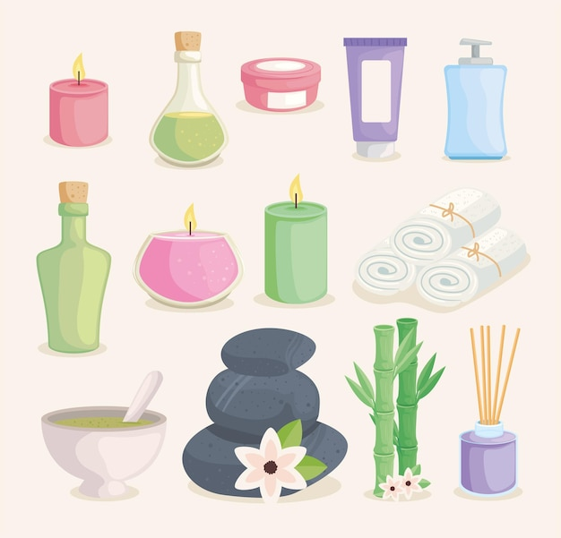 Spa bundle icons
