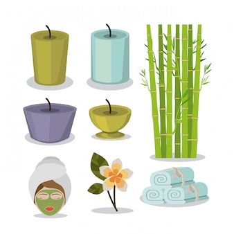 Spa design,vector illustration.