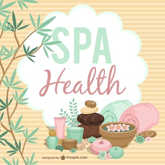 Spa and health stones and towels