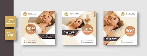 Spa post banner template
