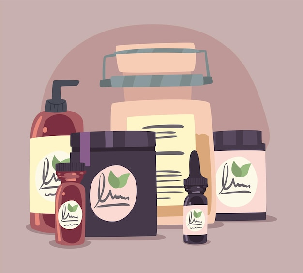Spa products and beauty