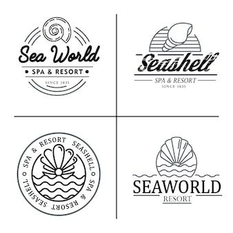 Spa salon logo design.
