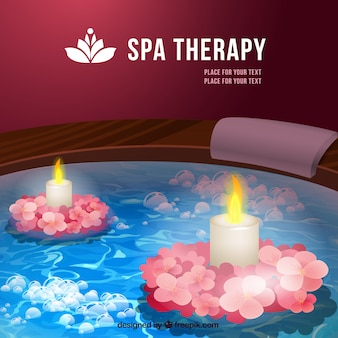 Spa therapy background