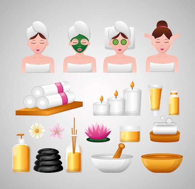 Spa treatment therapy