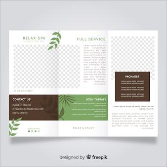 Spa trifold brochure