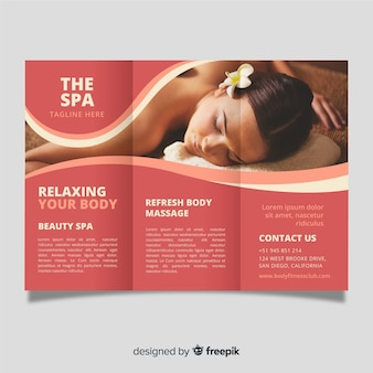 Spa trifold brochure