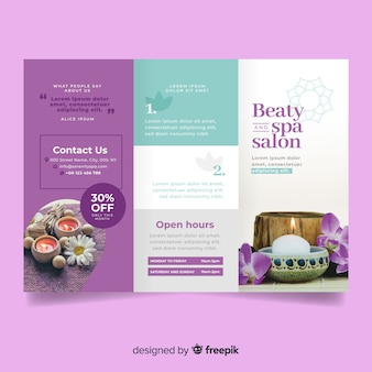 Spa trifold flyer