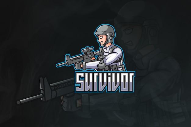 Логотип космической армии киберспорта