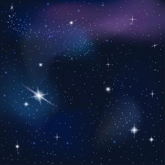 Космический фон, звездная туманность. галактика млечный путь в бесконечном пространстве.