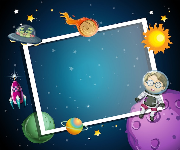 A space element frame