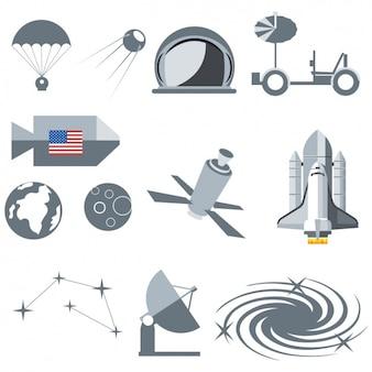 우주 장비