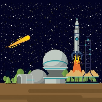 Space exploration adventure