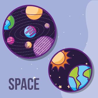 Космическая галактика космическая карта