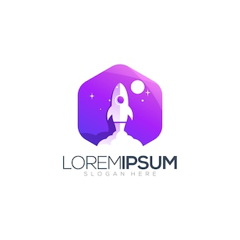 Space logo design