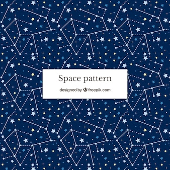 Space pattenr background