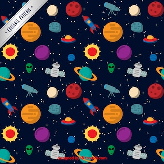 Space pattern Free Vector