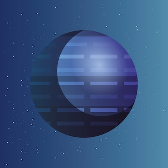 Space planets design