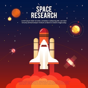 Space research and exploration
