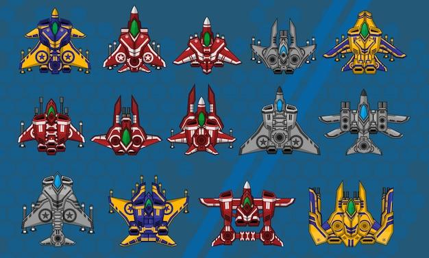 Space ship sprites