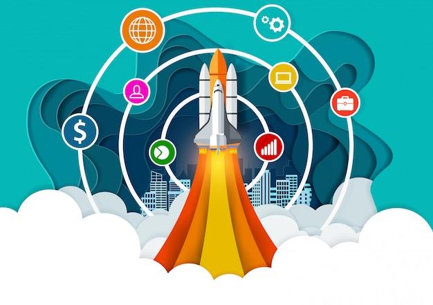 空の商務からスペースシャトル