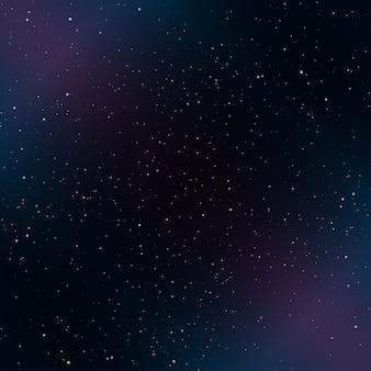 宇宙の星の背景。