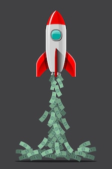 Space travel and spacewalking will be commonplace in earth's future. illustration in 3d style