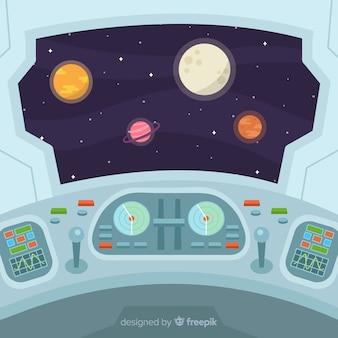 スペースクラフトの背景
