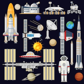 Spacecraft and space technology industry