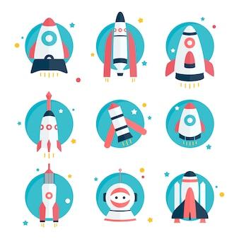 Spaceship and rocket designs