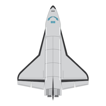 Spaceship top view.