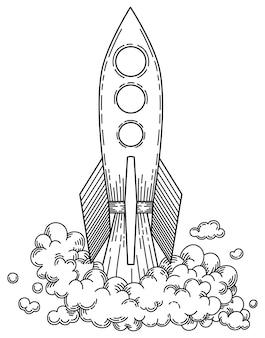 宇宙船旅行者イラスト