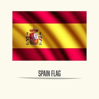 Spagna disegno della bandierina