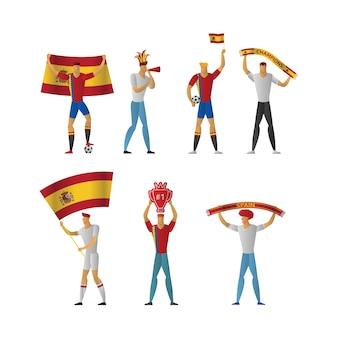 스페인 축구 팬들 명랑 축구