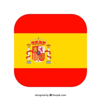 Spanish flag background