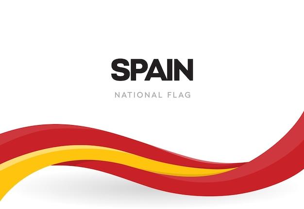 スペインの手を振る旗