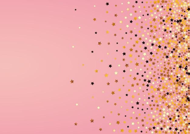 Sparkling decoration sky illustration. luxury shine wallpaper.