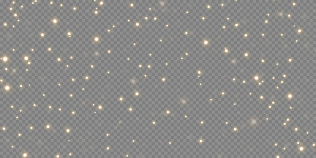 きらめく魔法のほこり。テクスチャの白と黒の背景に。光と銀のきらびやかなほこりの粒子と星のお祝いの抽象的な背景。魔法の効果。お祝いのイラスト。
