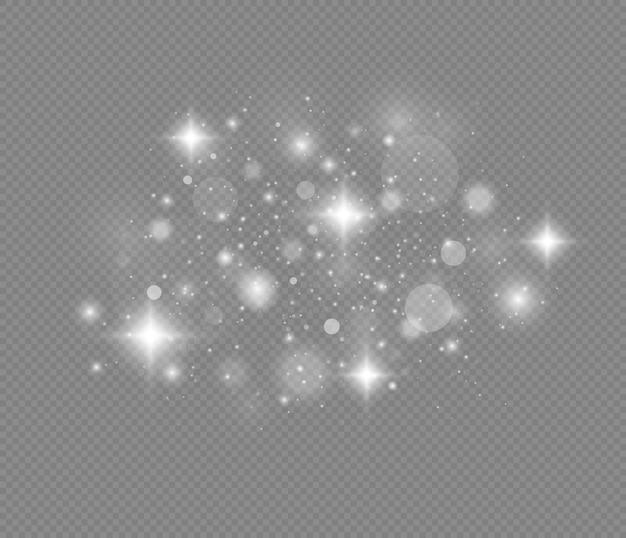 반짝이는 마법 가루 입자