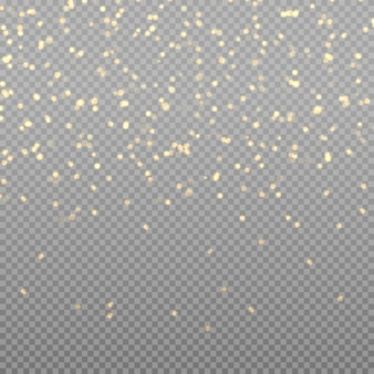 Sparkling magical dust particles. bokeh effect. christmas. light glowing lights.