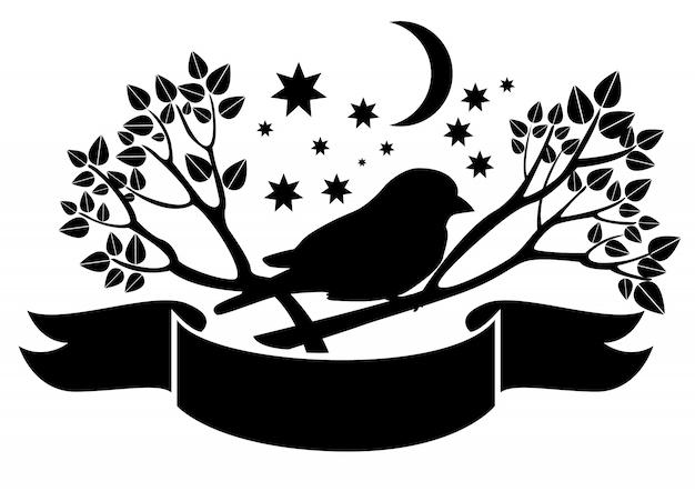 나뭇 가지에 참새