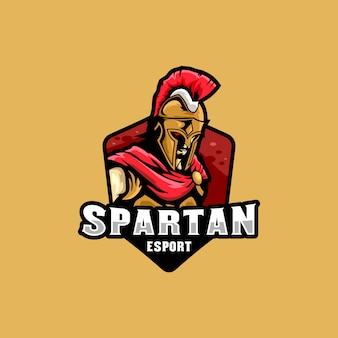 Spartan esportsのロゴイラスト