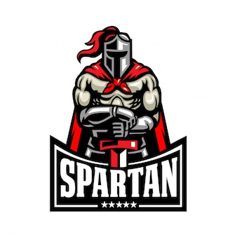 Spartan fighter logo