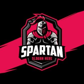 スパルタのマスコットのロゴ