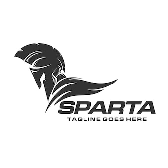 Spartan warrior logo vector