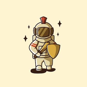 Спартонаут космический воин